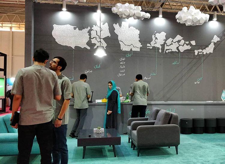 مصاحبه با شرکت ابرآروان در حاشیه الکامپ